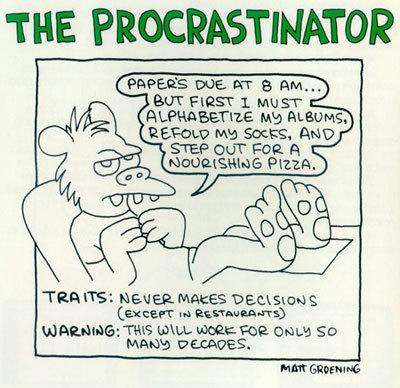 Procrastinator-procrastination-273885_400_388