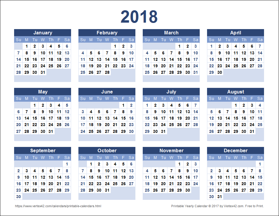 2018-yearly-calendar-landscape