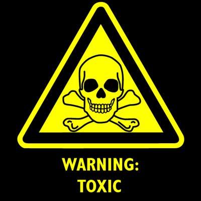 warning toxic