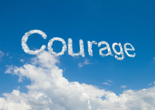 Courage-cloud