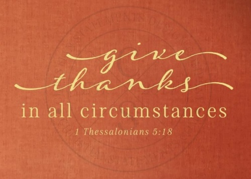 thanks in all things